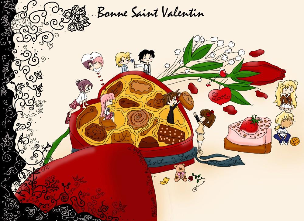 Поздравления на французском с днем валентина